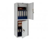 Шкаф офисный металлический сейфовый SL-125/2T