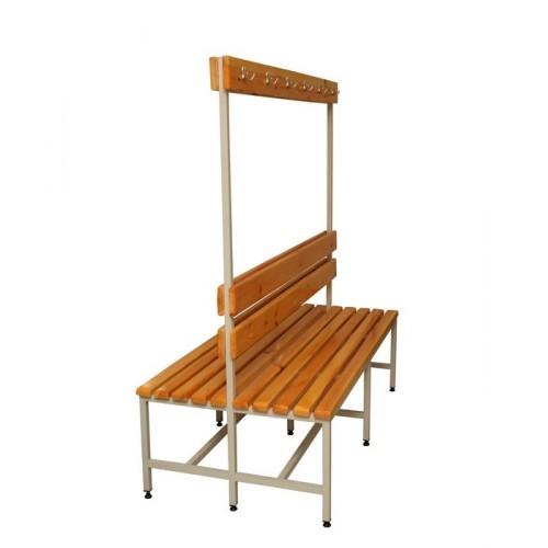 Спортивная скамейка для раздевалок